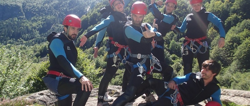 canyoning-team
